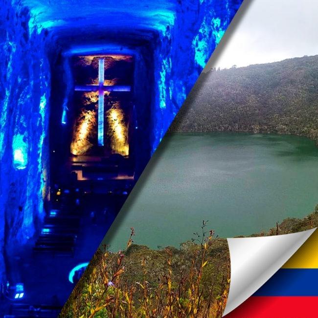 Tour a la Catedral de Sal en Zipaquirá y a la Laguna de Guatavita