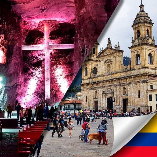 Tour a Zipaquira y City Tour Bogotá